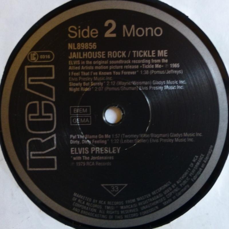 ORIGINAL SOUNDTRACKS: JAILHOUSE ROCK / TICKLE ME 2d10