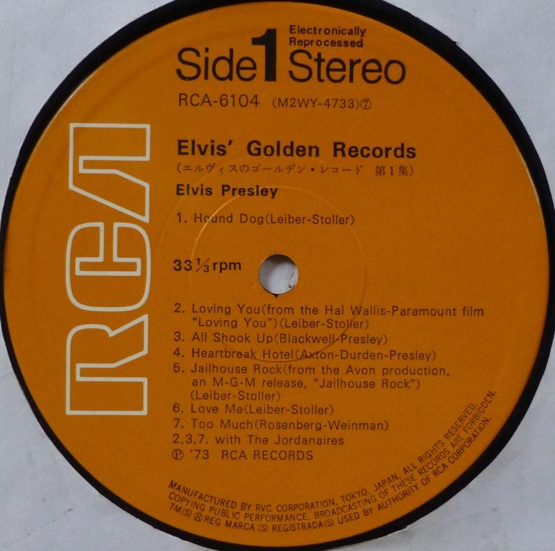 ELVIS`GOLDEN RECORDS P1040024