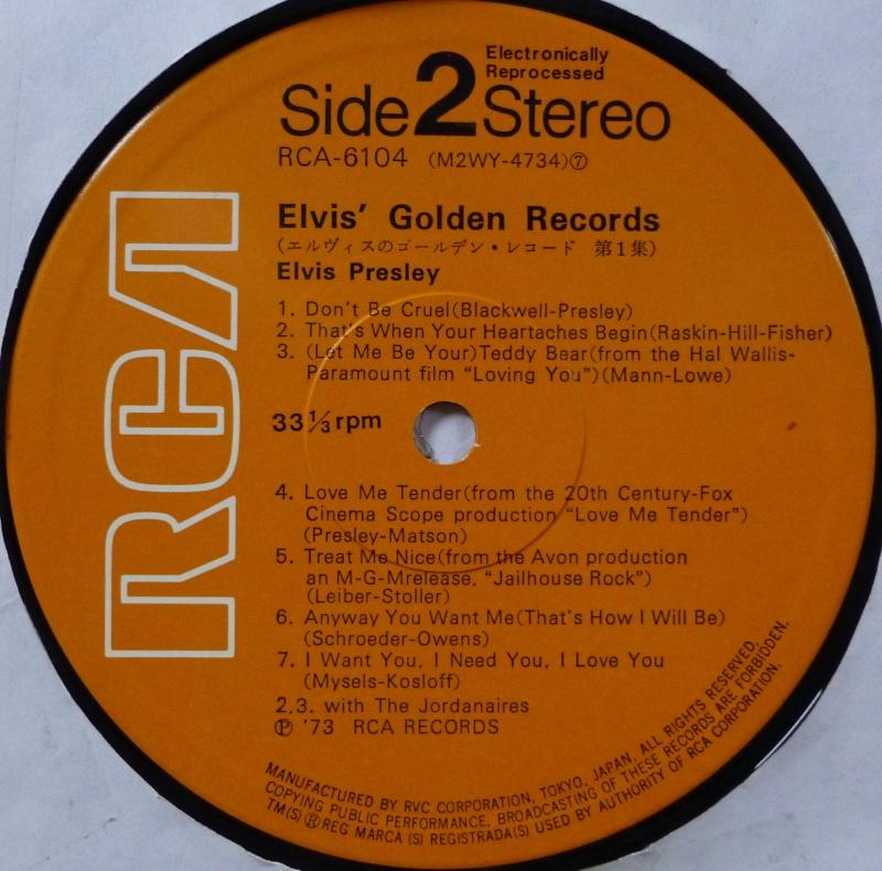 ELVIS`GOLDEN RECORDS P1040025