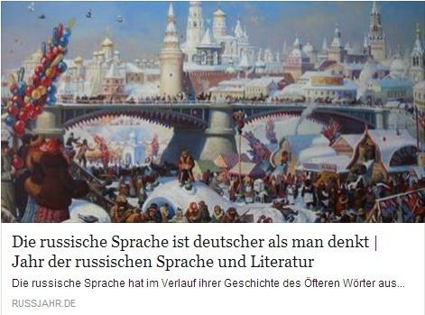 Die russische Sprache ist deutscher als man denkt Temp145