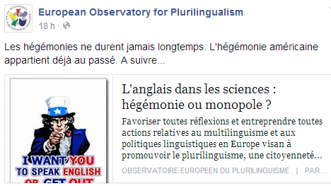 European Observatory for Plurilingualism Temp205