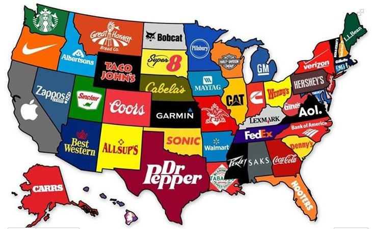 The Most Famous Brand from Each State In The US Temp214