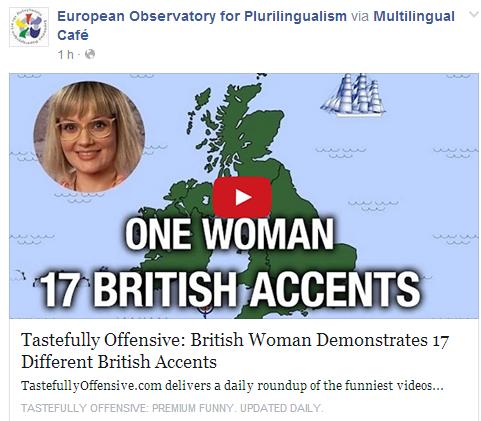 British Woman Demonstrates 17 Different British Accents Temp250