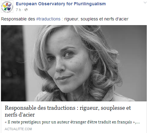 European Observatory for Plurilingualism Temp357
