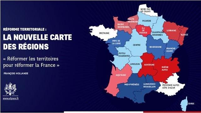 Top 13 des cartes de France vue autrement, c'est vrai que ça change Temp42
