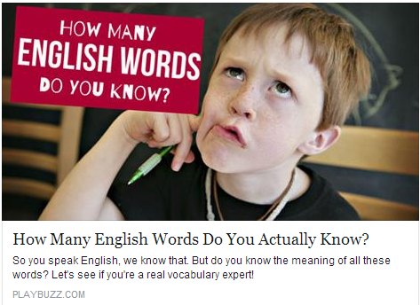 How Many English Words Do You Actually Know? Temp508