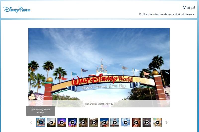 "DVD de ""Plani-vacances"" WDW / Disneyland Resort en Français 410"