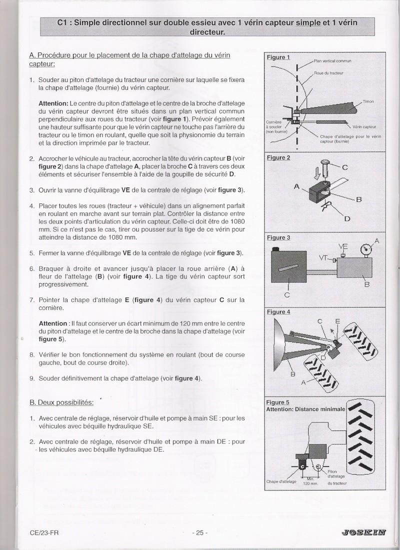 Comment regler  un essieux directionnel forcé Numyri10