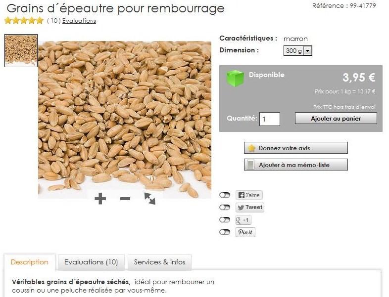 Du colza ou de l'épeautre à 13170 €/T ! Ypeaut10
