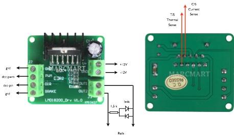 Animation d'un Va-et-Vient automatique (centrale DCC Arduino complète) Lmd18210