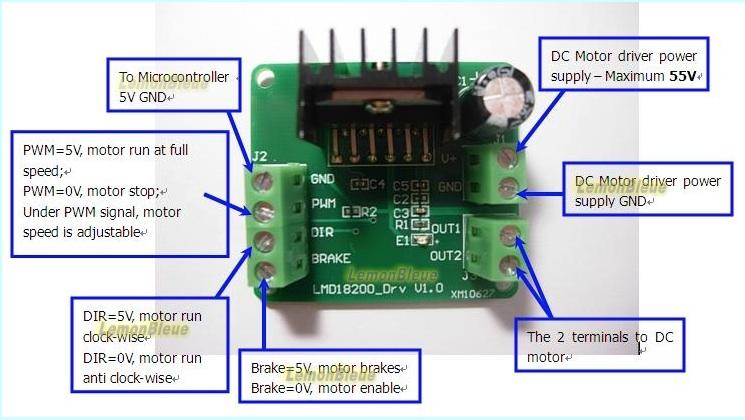 Animation d'un Va-et-Vient automatique (centrale DCC Arduino complète) Lmd18211