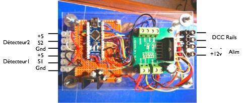 Animation d'un Va-et-Vient automatique (centrale DCC Arduino complète) Vuedes10