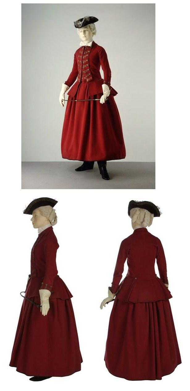 [Histo] Riding Habit, ou comment se vêtir pour les journées de chasse à cour de Louis XV 434c0b10