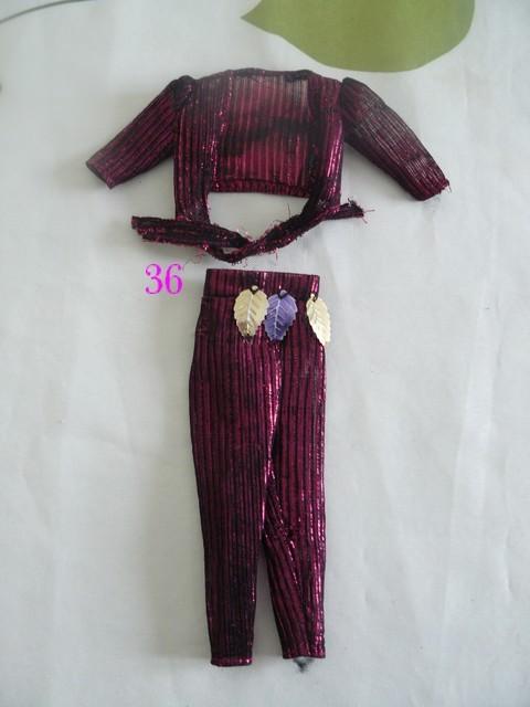 Identifications vêtements Barbie  3610
