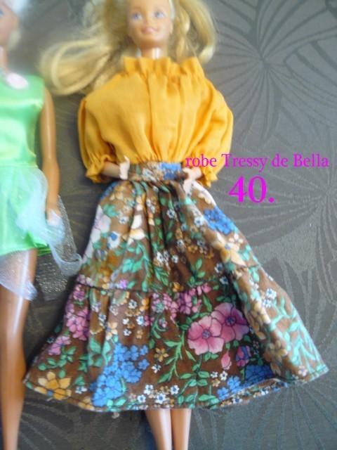 Identifications vêtements Barbie  4010