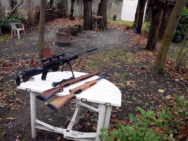 Carabine neuve neuve Hw97K 16 joules cal 4,5 Puissance faible ? 00610