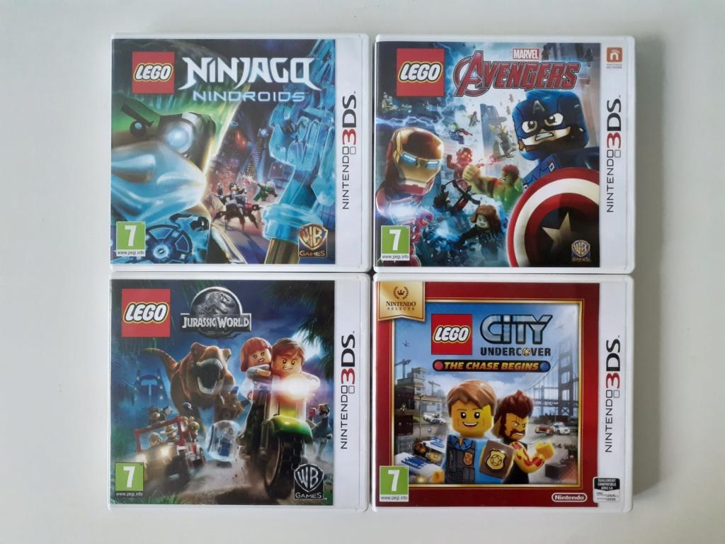 [VDS] Lot 4 jeux LEGO Nintendo 3DS 20210310