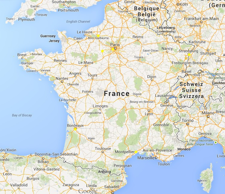 Carte de France des bornes >= 22KW , compatible ZOE  Cf_bor13