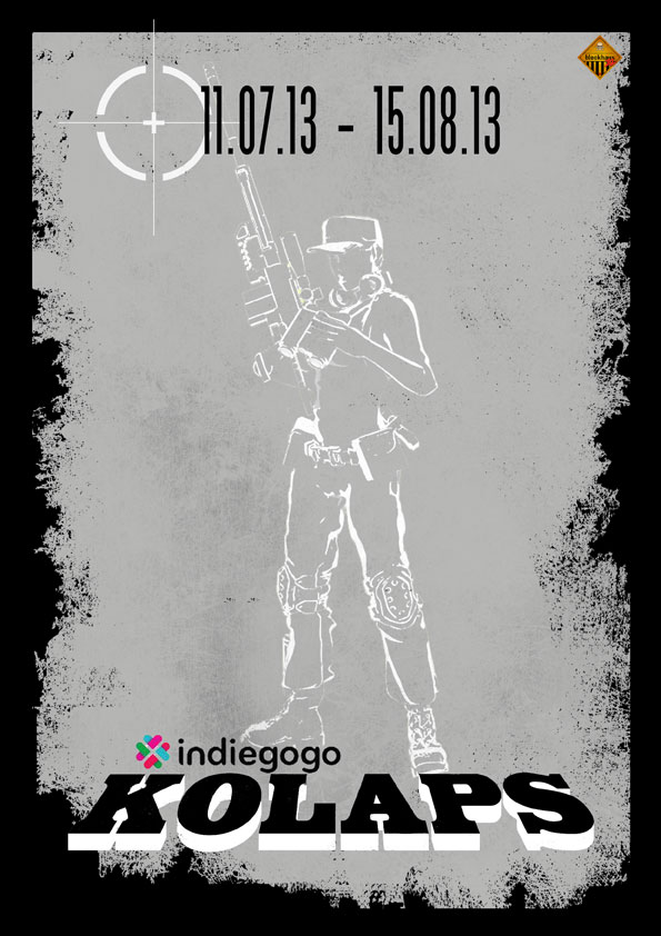 KOLAPS Vague 3 // Indiegogo. Indiea14