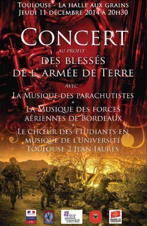 Concert au profit des blessés de l'arméede terre 11 novembre 2014 Concer10