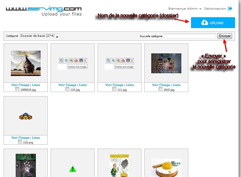 Comment utiliser votre compte servimg.com  Servim12
