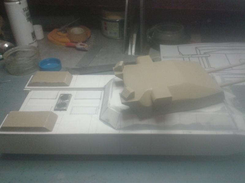 char type landcreuzer P 1000 Ratte jamais construit - Page 3 20141043