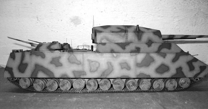 char type landcreuzer P 1000 Ratte jamais construit - Page 4 Ratte_14