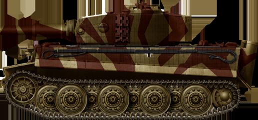 char type landcreuzer P 1000 Ratte jamais construit - Page 4 Tigerp10