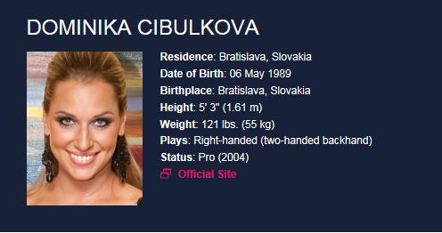 DOMINIKA CIBULKOVA (Slovaque) - Page 3 Domini10