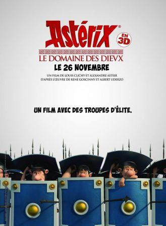 Astérix Le Domaine des Dieux, dessin animée 3D - Page 2 Affich10