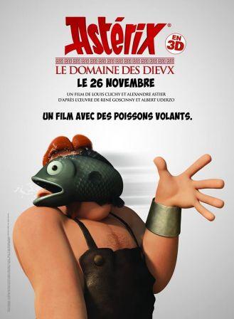 Astérix Le Domaine des Dieux, dessin animée 3D - Page 2 Affich12