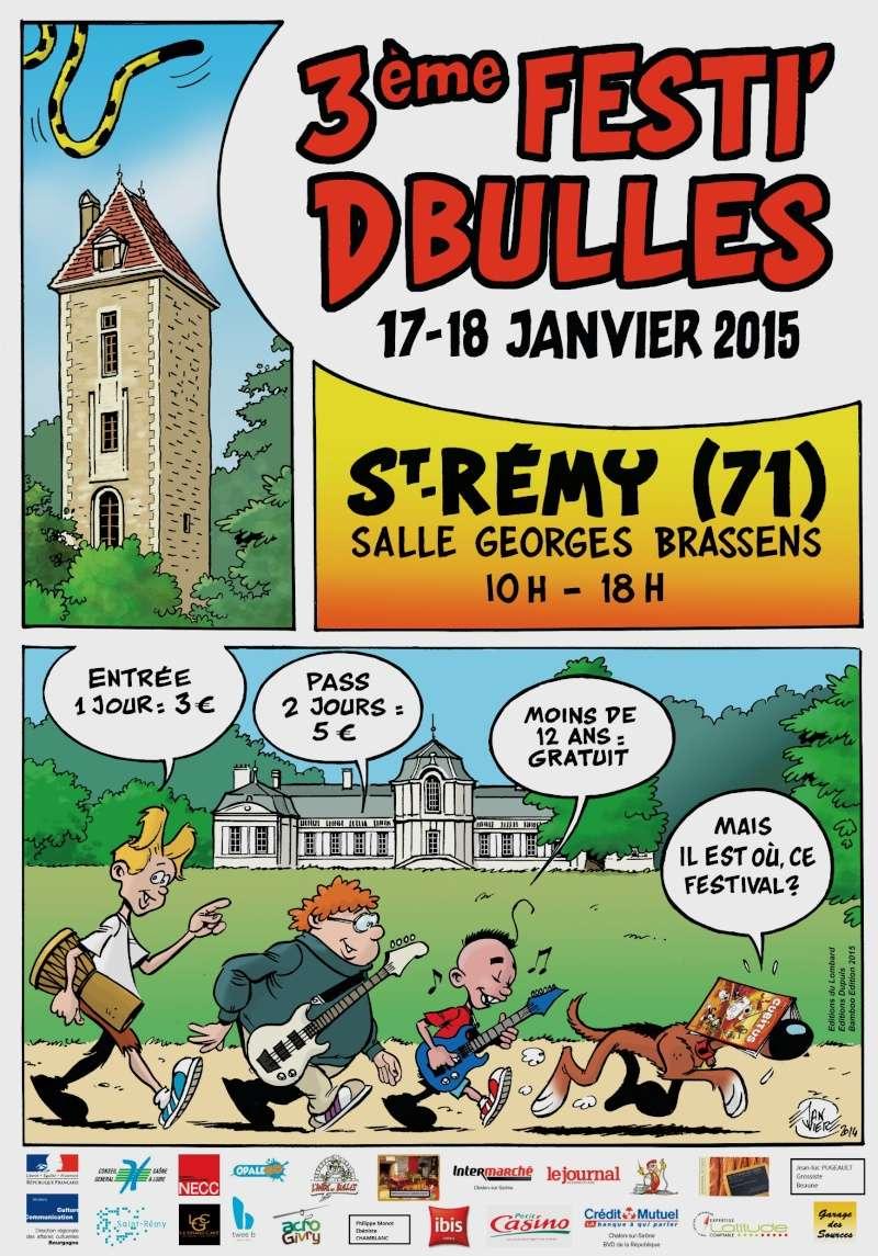 FESTI'BD en Bourgogne à St-Remy (71) 17/18 janvier 2015 Affich15