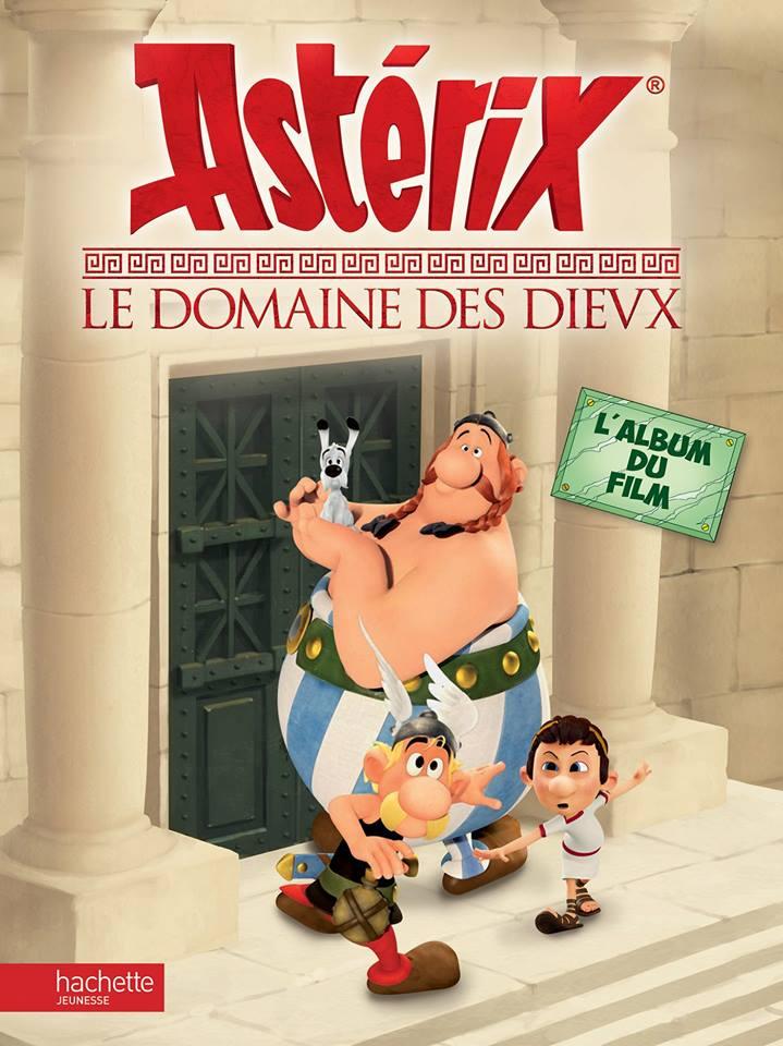 Astérix Le Domaine des Dieux, dessin animée 3D Album_10