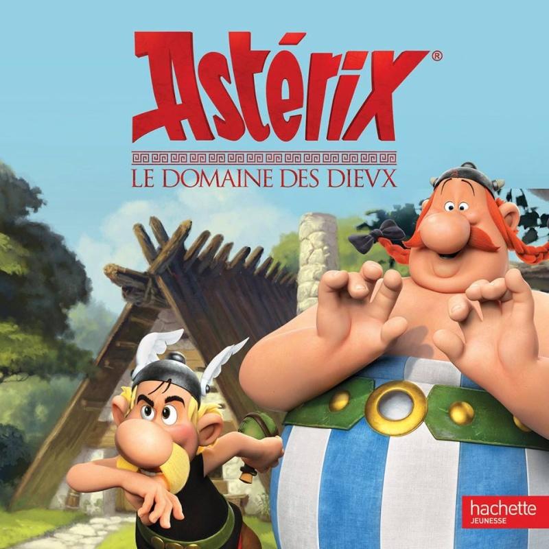 Astérix Le Domaine des Dieux, dessin animée 3D Album_11