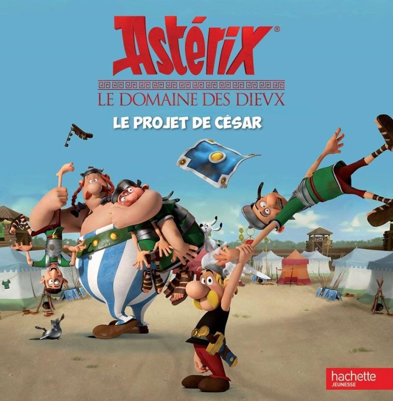 Astérix Le Domaine des Dieux, dessin animée 3D Album_12