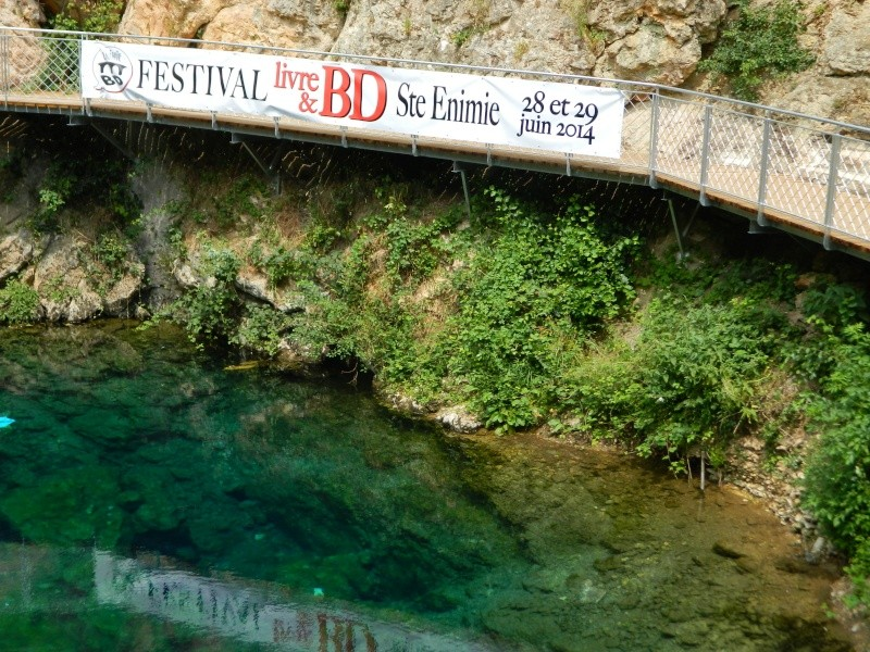 Festival Livre et BD à Sainte Enimie (Lozère) 28/29 juin 2014 Dscn4914