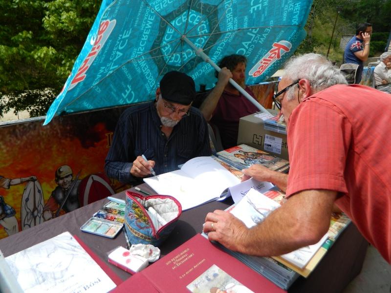 Festival Livre et BD à Sainte Enimie (Lozère) 28/29 juin 2014 Dscn4917