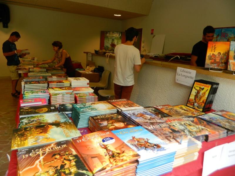 Festival Livre et BD à Sainte Enimie (Lozère) 28/29 juin 2014 Dscn4922