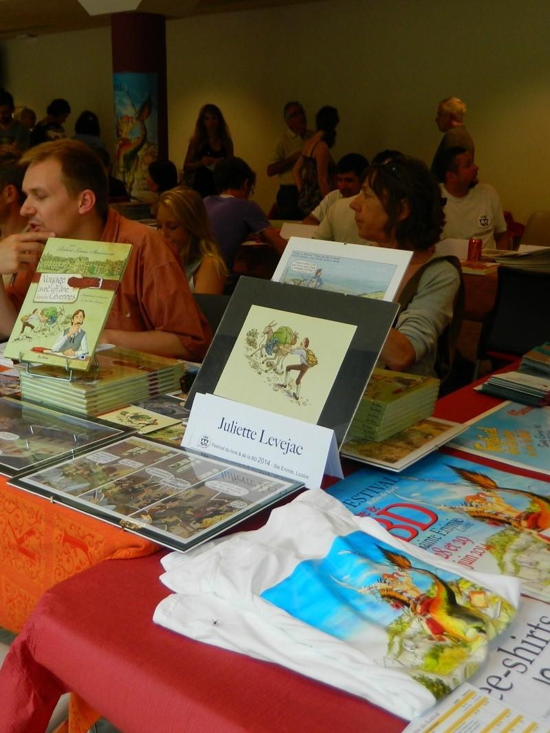 Festival Livre et BD à Sainte Enimie (Lozère) 28/29 juin 2014 Dscn4923