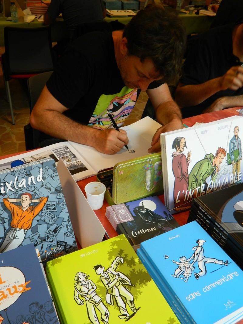 Festival Livre et BD à Sainte Enimie (Lozère) 28/29 juin 2014 Dscn4932