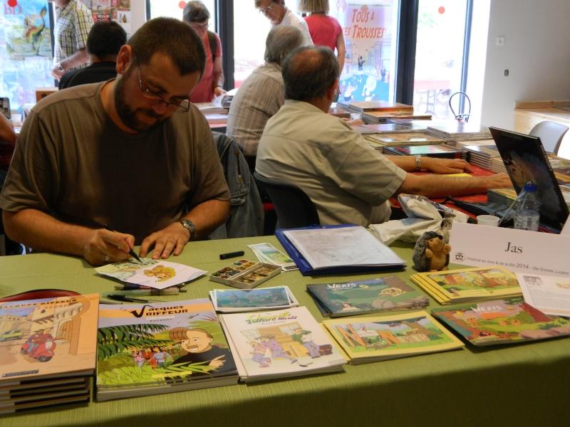 Festival Livre et BD à Sainte Enimie (Lozère) 28/29 juin 2014 Dscn4937