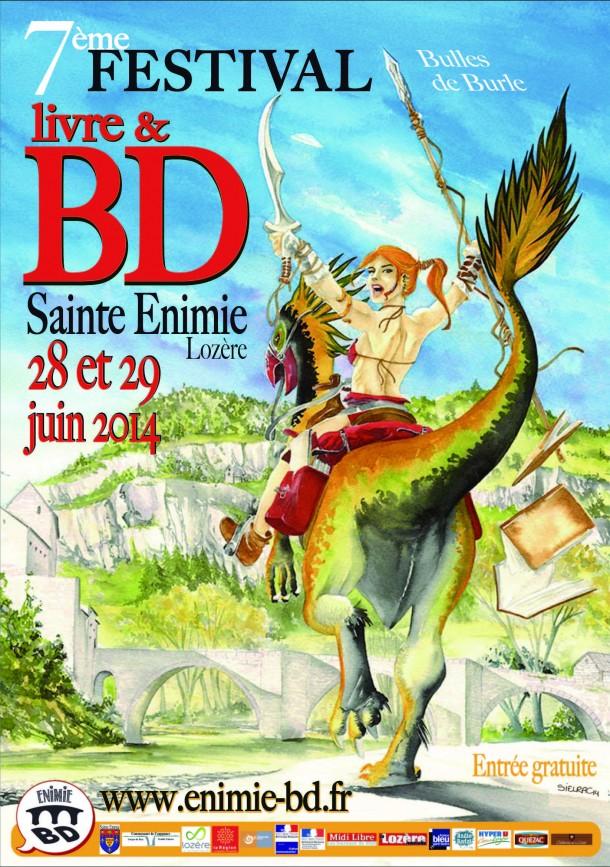 Festival Livre et BD à Sainte Enimie (Lozère) 28/29 juin 2014 Festiv11