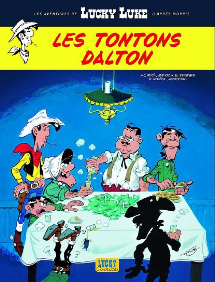 Lucky Luke et les Tontons Dalton Les_to10