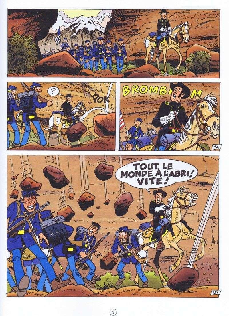 Les nouveaux albums des Tuniques Bleues Planch10