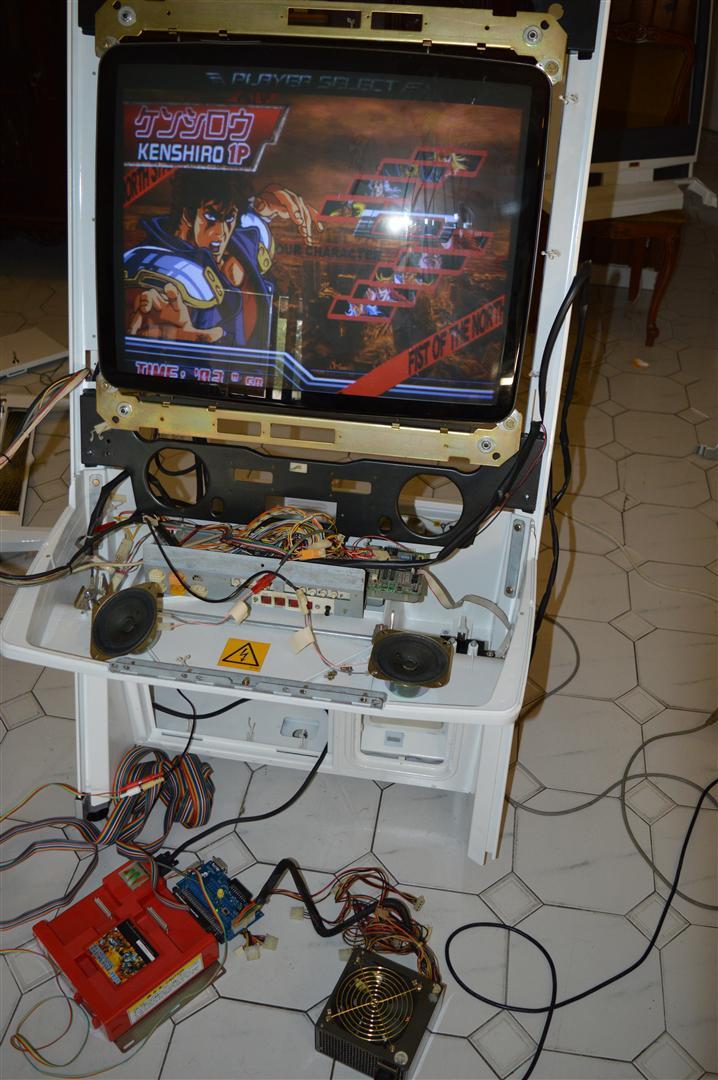 [TERMINÉ] Sega Naomi NUC restauration / Sitdown / Conversion en New Net City NNC Dsc_1179