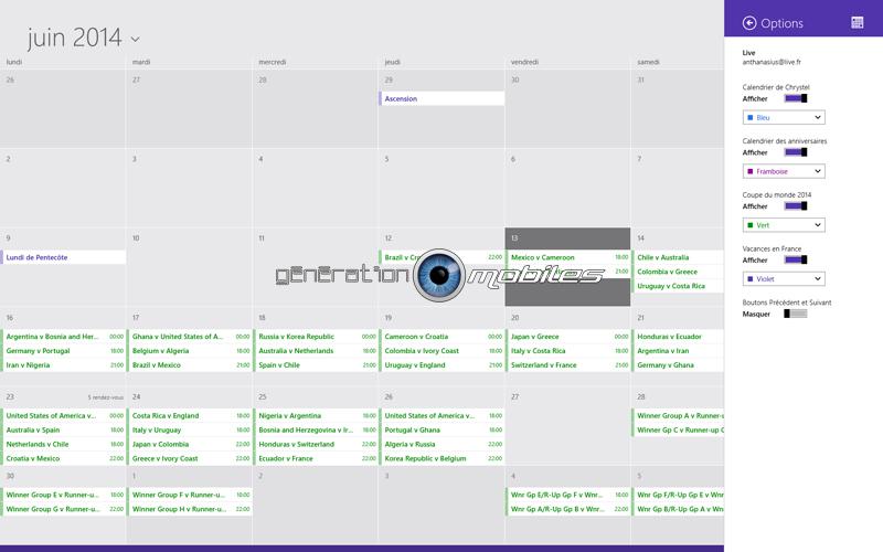 [TUTO] Intégrer le calendrier de la coupe de monde Calend11
