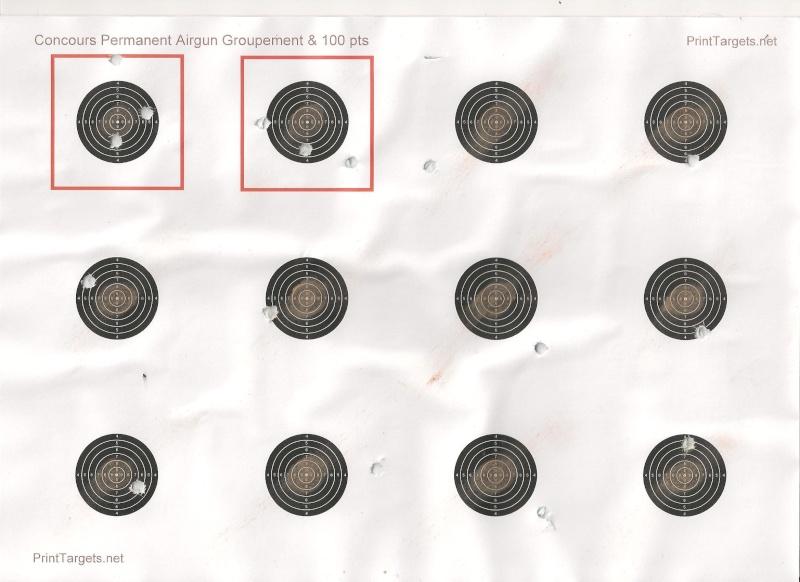 """Concours permanent bimestriel """"groupement & 100pts"""" sur cible CC A4 : Mai Juin 2014 - Page 6 00111"""