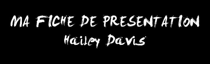 Présentation de Hailey Davis Base_f14