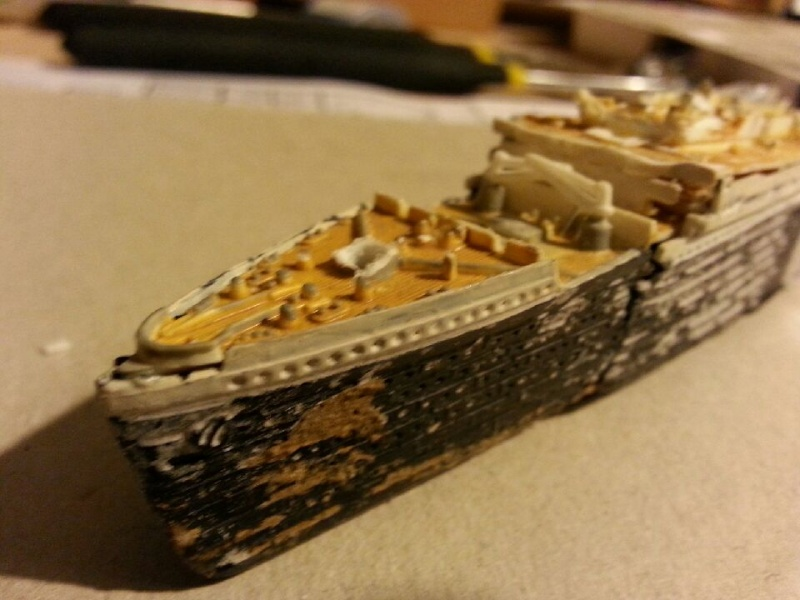 Épave du RMS Titanic 1/1200 20141013
