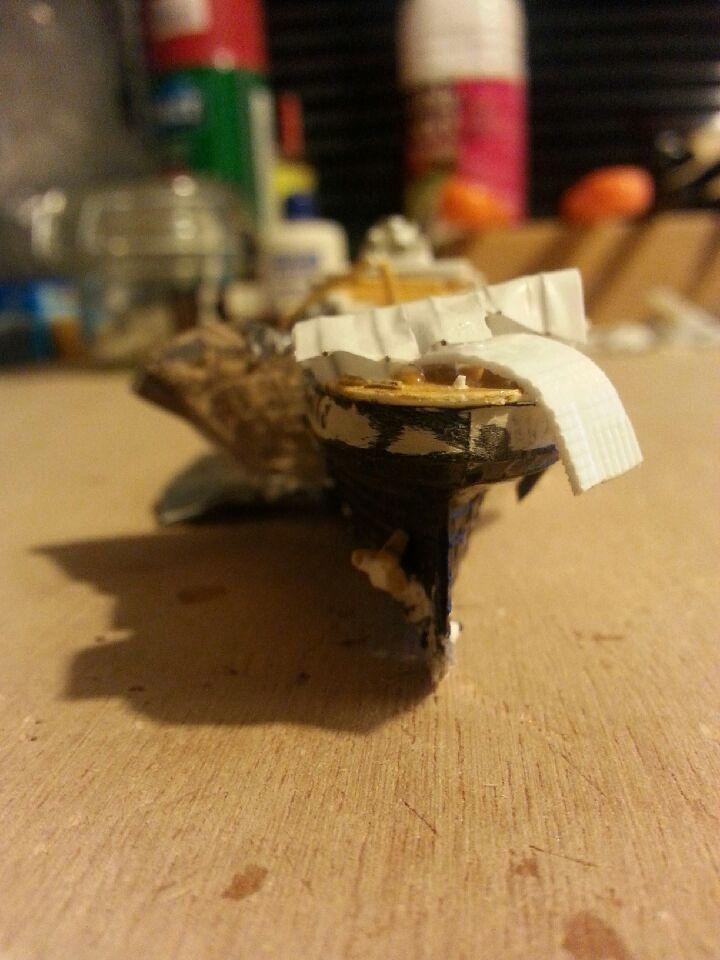Épave du RMS Titanic 1/1200 20141033